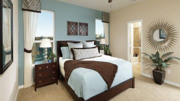 Bed Rooms Blue Color Luxury Aquatic Paint