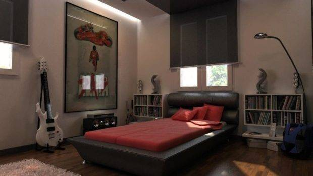 Bedding Ideas Mens Bedroom Using Large Wall Decor Decorative