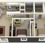 Bedroom Apartment Plans Two