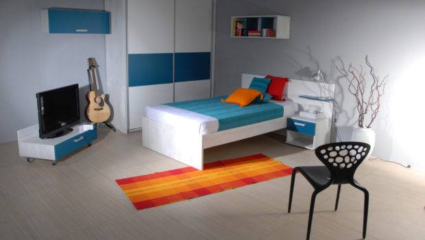 Bedroom Best Cool Things Teenagers Room Decor Blue White