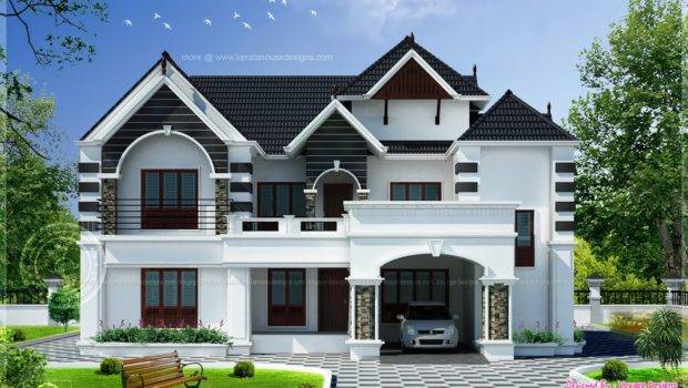 Bedroom Colonial Style House Kerala Home Design Floor Plans