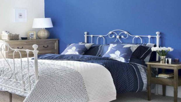 Bedroom Color Schemes Bedrooms Blue Wall