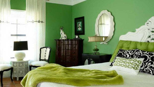 Bedroom Colors Green Walls Wall Paint Color