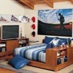 Bedroom Cool Ideas Teenage Guys Homes Inspiration Unique