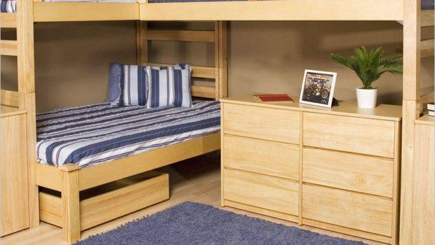 Bedroom Creative Bunk Beds Small Spaces Look