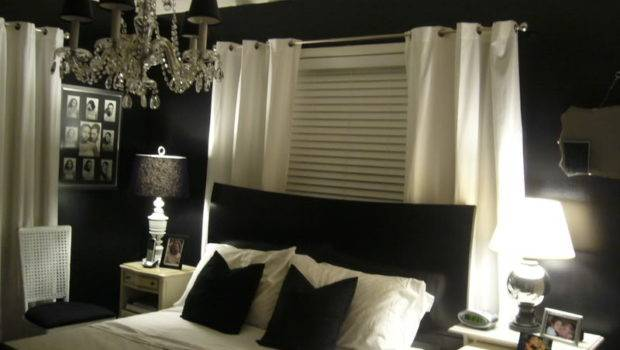 Bedroom Decorating Ideas Black Cream Room