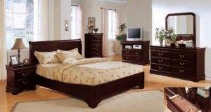 Bedroom Decorating Ideas Cherry Furniture Room