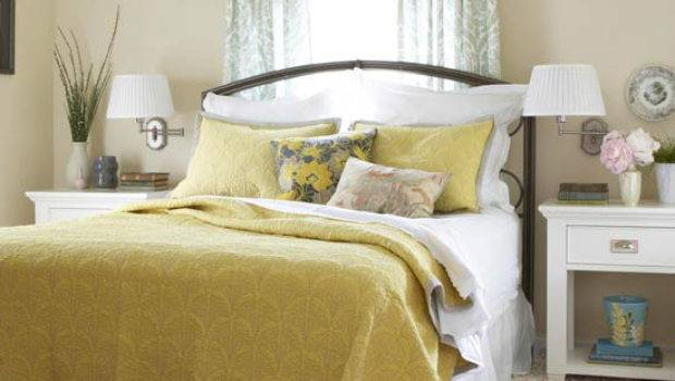 Bedroom Decorating Ideas Yellow Color Modern