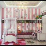 Bedroom Designs White Pink Girls Furniture Small Canopy