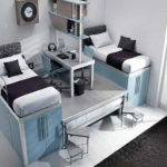 Bedroom Funky Cool Twin Bed Design Ideas