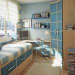 Bedroom Furniture Designs Small Spaces Interior Decorating Idea