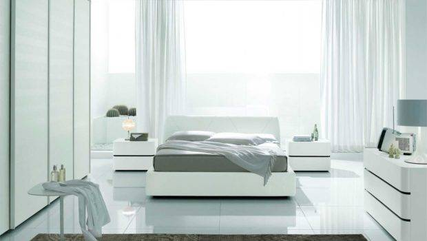 Bedroom Furniture Modern White Colour