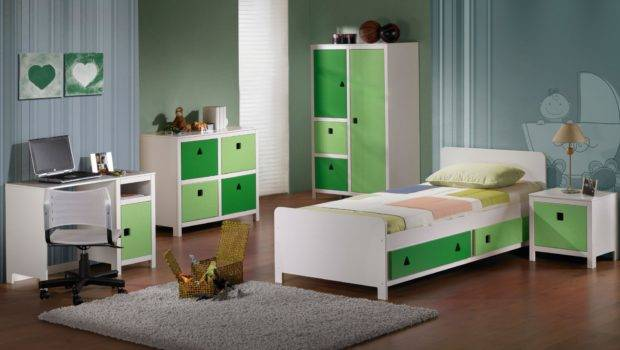 Bedroom Green Paint Colours Adorable White