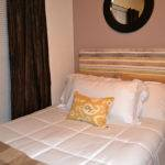 Bedroom Headboard Ideas Colorful White Bed Cover Pillows