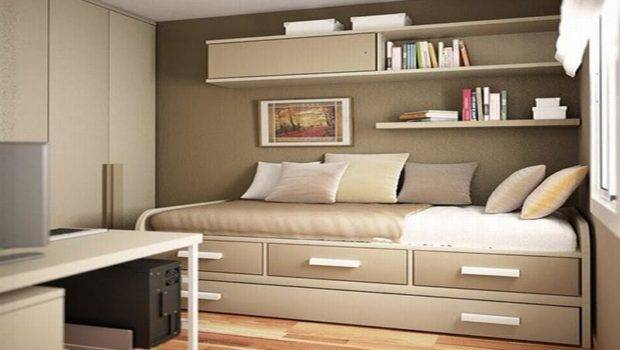 Bedroom Ideas Small Rooms Wall