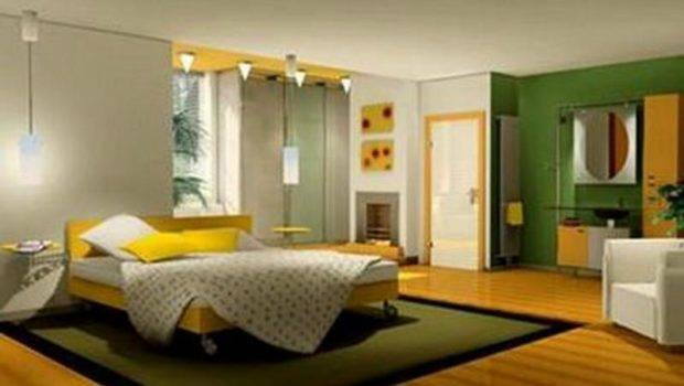 Bedroom Nice Green Yellow Small Teen Decorating Ideas