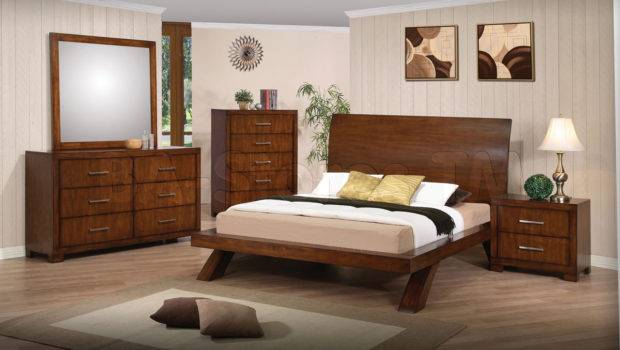 Bedroom Set Brown Cherry Acme Furniture Sets