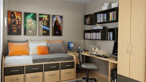 Bedroom Storage Compact Space Ideas Cool Small Teens