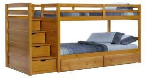 Bedroom Top Bunk Bed Stairs Loft Plans