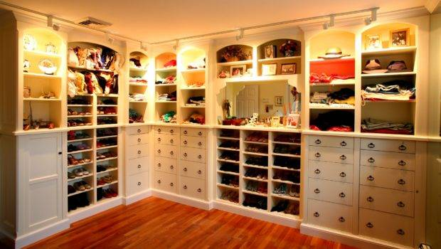 Bedroom Walk Closet Traditional Modern