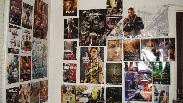 Bedroom Wall Game Posters Thm Hosted