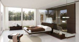 Bedroom White Apartment Interior Design Ideas Modern Contermporary
