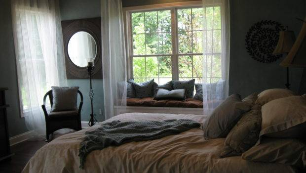 Bedroom Window Seat Luxuries Pinterest