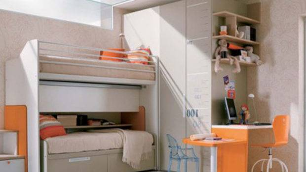 Bedrooms Teenage Girls Loft Beds Cool