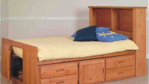 Beds Captain Twin Captains Bed Bookcase Headboard