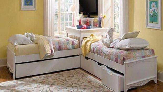 Beds Shaped Corner Twin Boys Shape