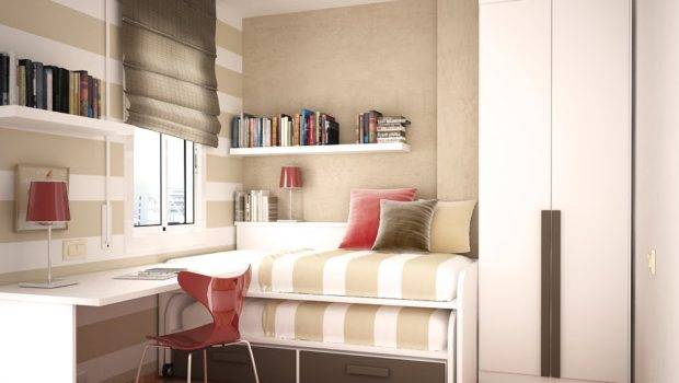 Beds Small Spaces Kids Room Design Two Space