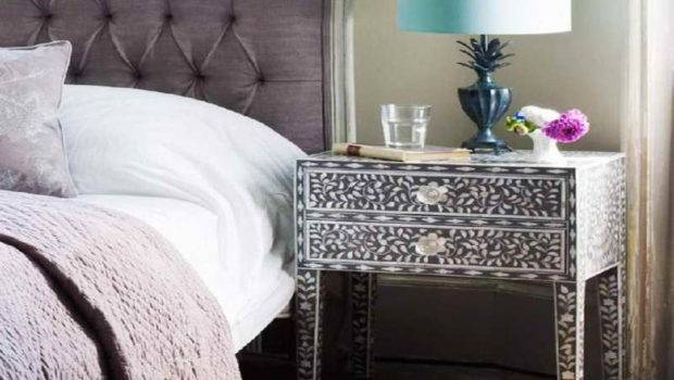 Bedside Table Small Ideas Lamp Cheap