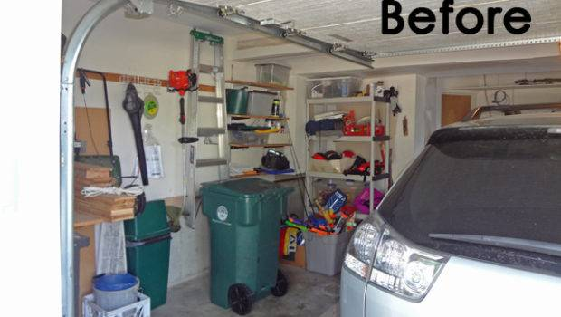 Before After Converting Garage Into Room
