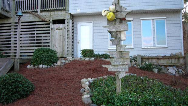 Before After Renovation Small Yard Colington Harbour
