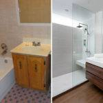 Before After Small Bathroom Renovation Paul Stewart