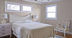 Before Benjamin Moore New Traditional Bedroom