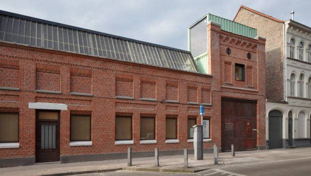 Belgian Warehouse Gets Unconventional Makeover Using