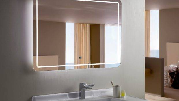 Bellagio Backlit Mirror Led Bathroom Horizontal