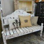 Benches Made Out Headboards Creative Ideas Headboard