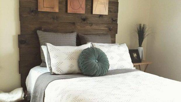 Best Barn Wood Headboard Ideas Pinterest Diy