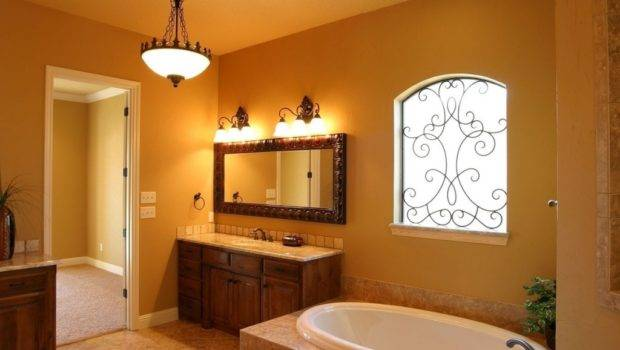 Best Bathroom Colors Small Wrought Iron Window