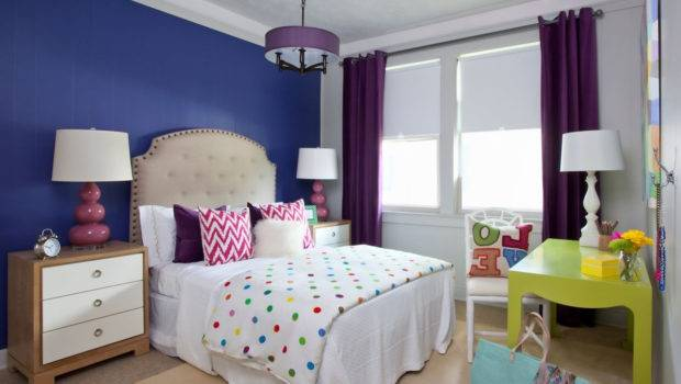 Best Bedroom One Wall Different Color Home Combo