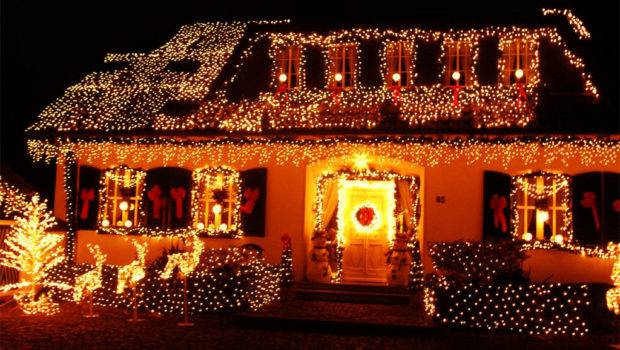 Best Decorated Houses Christmas House Design