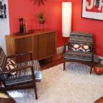 Best Decoration Contemporary Living Room Red Wall Decosee