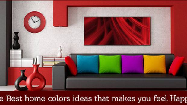 Best Home Color Ideas Makes Feel Happy