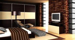 Best Modern Bedroom Brown Color Design