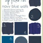 Best Navy Blue Walls Ideas Pinterest Dark