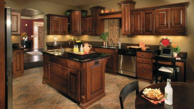Best Paint Color Kitchen Dark Cabinets Decor