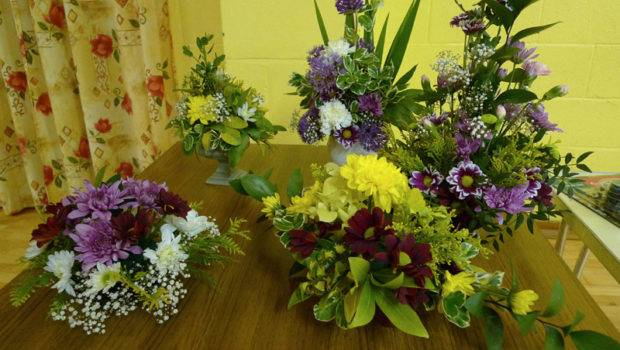 Bicker District Garden Club Spring Flower Arrangements