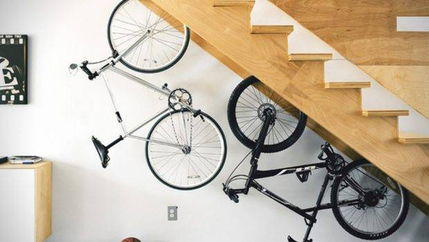 Bike Rest Handmade Plywood Stand Designed Storing Your